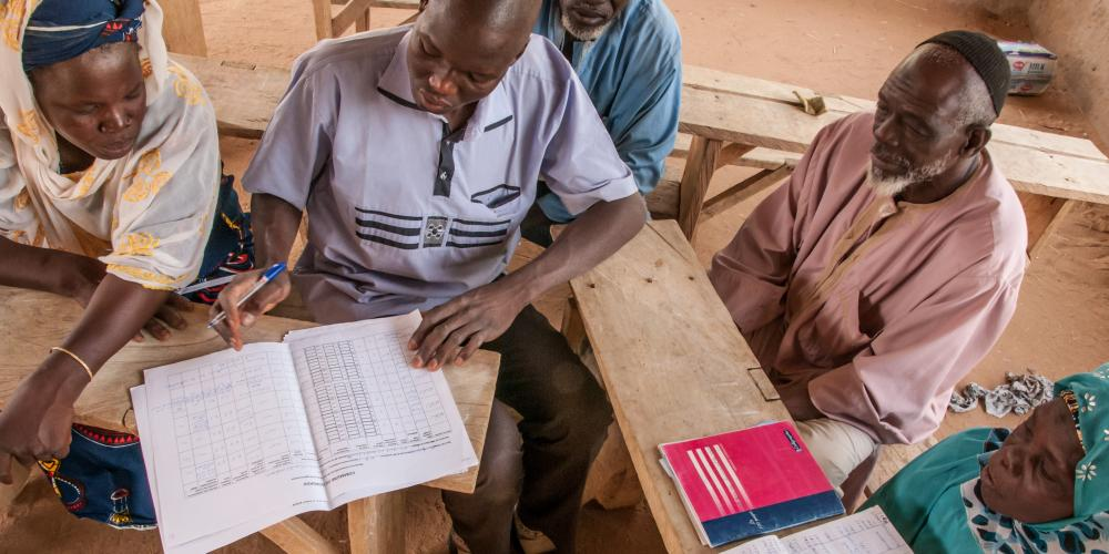 WASH experts in Burkina Faso