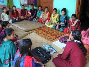 Using stories to inspire change in India
