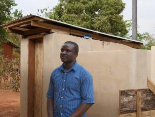 Festus Boadi, WASH Field Officer for World Vision