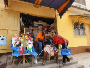 Market in Burkina Faso