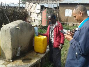 Collecting baseline data with mobile phones in Ethiopia