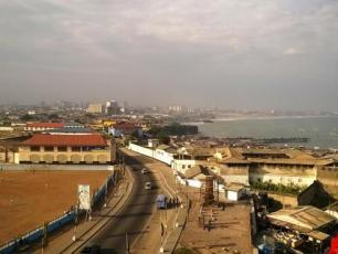 Clean city in Ghana