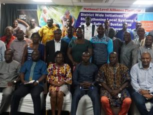 Ghana Partners group picture - learning exchange