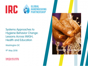 Webinar: Systems approaches to hygiene behavior change – lessons across WASH, health, and education