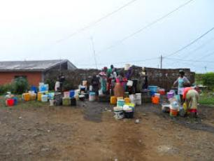 Community water source in Cameroon