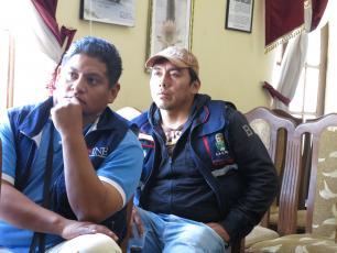 municipal officers from Tiraque