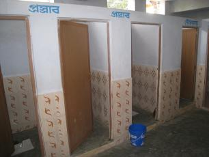 Public toilets in India