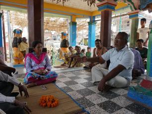 Meeting in Odisha, India