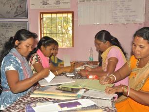 SHG Federation workers of Kanamana Gram Panchayat