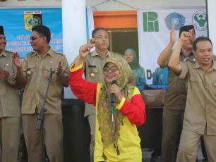 Spreading the sanitation message in Indonesia