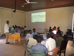 Participants at the SWS woreda workshop in Ethiopia