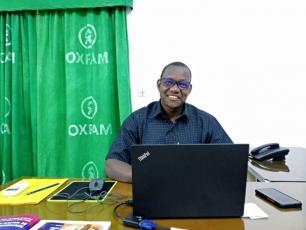 Marc Kaboré of Oxfam