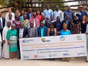Les participants d'AAFEA