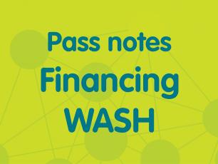 Pass notes financing WASH