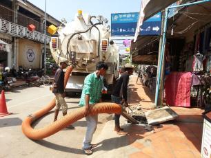 Faecal sludge management in Siem Reap, Cambodia