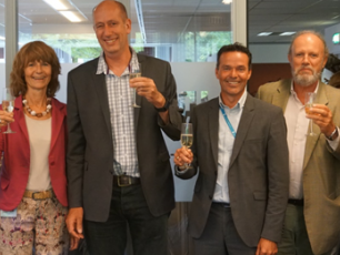 IRC and DGIS staff celebrate signing of new 5 year partnership
