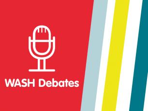 WASH Debates logo