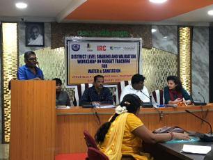 Panel of the Watershed India workshop in Odisha