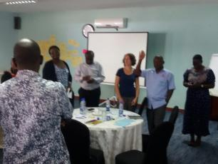 TOC exercise in Kampala Uganda