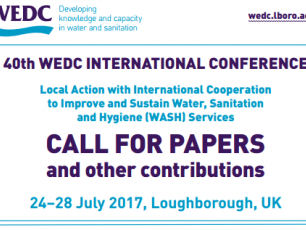 WEDC Conference call for papers