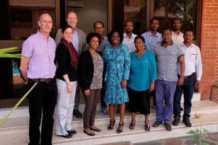 The Ethiopian delegation to Ghana on SDG planning